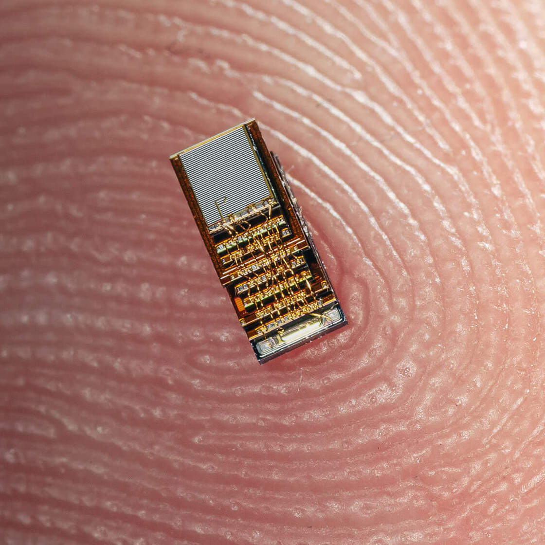M3 sensor on a finger